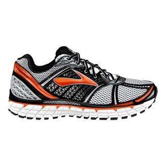 Brooks Trance 12 Silver / Black / Red Orange