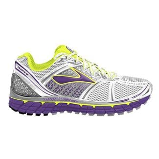 Brooks Trance 12 White / Silver / Royal Purple