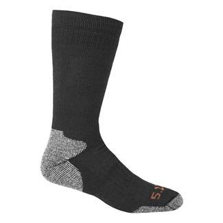 5.11 Cold Weather OTC Socks Black