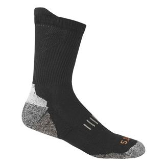 5.11 Year Round Crew Socks Black