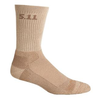 "5.11 Level 1 6"" Socks Coyote"