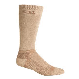 "5.11 Level 1 9"" Socks Coyote"