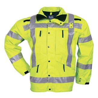5.11 Reversible Hi-Vis Parkas Reflective Yellow