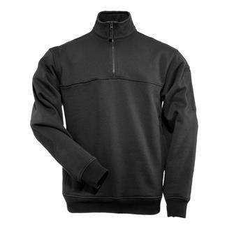 5.11 1/4 Zip Job Shirts Black