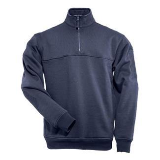 5.11 1/4 Zip Job Shirts Fire Navy
