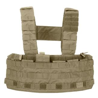 5.11 TacTec Chest Rigs Sandstone
