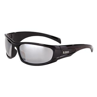 5.11 Shear Polarized Eyewear Black (frame) - Polarized Smoke (lens)
