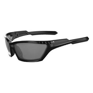 5.11 CAVU Full Frame Gloss Black (frame) - Plain Smoke (lens)