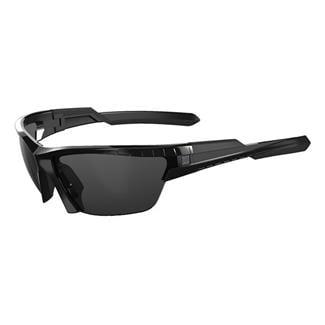5.11 CAVU Half Frame (3 Lens) Gloss Black (frame) - Plain Smoke / Ballistic Orange / Clear (3 lenses)