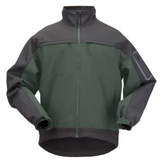 5.11 Chameleon Softshell Jackets Moss / Black