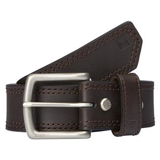 "5.11 1.5"" Arc Leather Belt Brown"