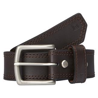 "5.11 1.5"" Arc Leather Belt Brown"