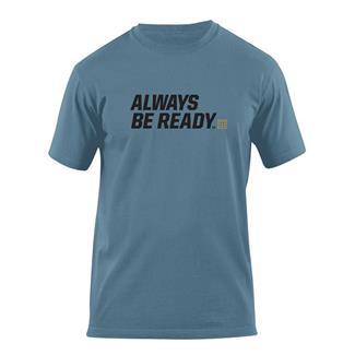 5.11 ABR Logo T-Shirts Mineral Blue