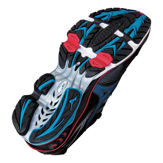 Mizuno Wave Creation 14 Anthracite / Caneel Bay / Chinese Red