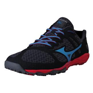 Mizuno Wave Evo Ferus Dark Shadow / Dude Blue / Chinese Red