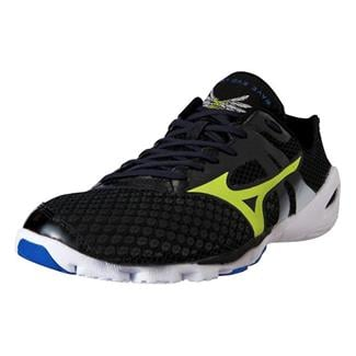 Mizuno Wave Evo Levitas Anthracite / Lime Punch / White