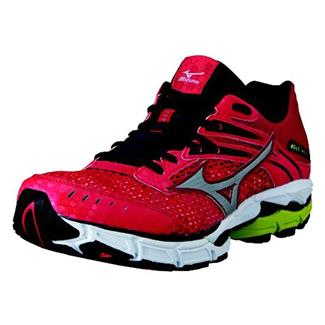 Mizuno Wave Inspire 9 Chinese Red / Silver / Lime Punch