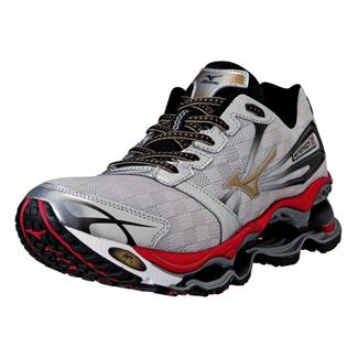 Mizuno Wave Prophecy 2 Silver / Gold / Chinese Red
