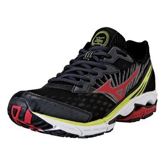 Mizuno Wave Rider 16 Anthracite / Chinese Red / Lime Punch