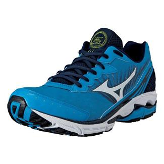 Mizuno Wave Rider 16 Dude Blue / White / Dress Blue