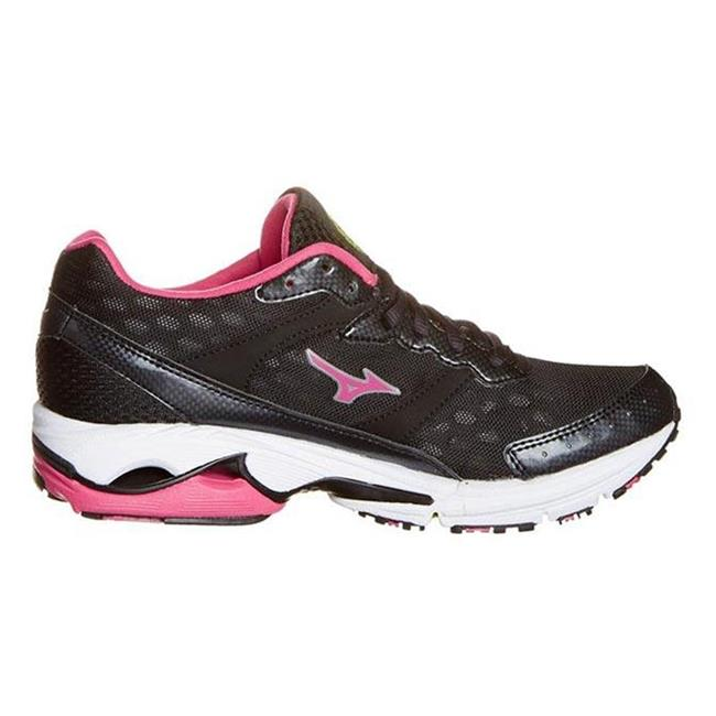 Mizuno Wave Rider 16 Anthracite / Beetroot / Lime Punch