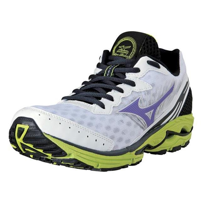 Mizuno Wave Rider 16 White Amethyst / Orchid / Lime Punch