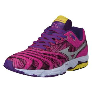 Mizuno Wave Sayonara Electric / Silver / Purple Magic