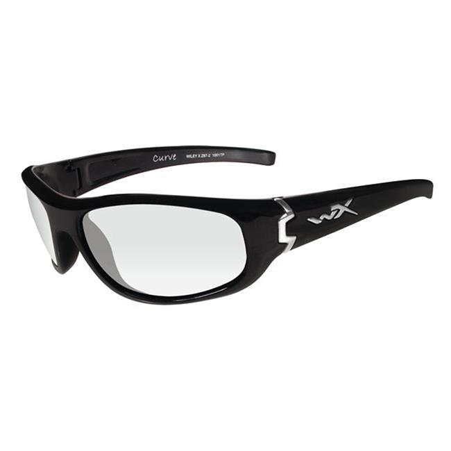 Wiley X Curve Clear Gloss Black