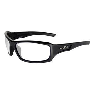 Wiley X Echo Gloss Black (frame) - Clear (lens)