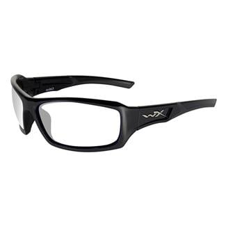 Wiley X Echo Gloss Black (frame) - Clear (lens)