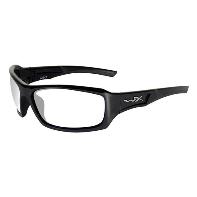 Wiley X Echo Clear Gloss Black
