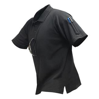 Vertx InnoDri Short Sleeve Polos Black