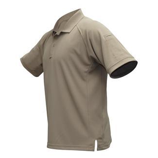 Vertx InnoDri Short Sleeve Polos Tan
