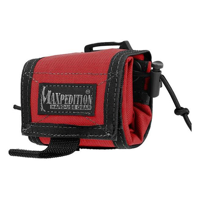 Maxpedition Rollypoly Folding Dump Pouch Emergecy Red