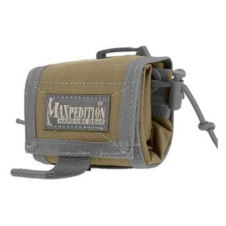 Maxpedition Rollypoly Folding Dump Pouch Khaki / Foliage