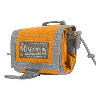 Maxpedition Rollypoly Folding Dump Pouch Orange / Foliage