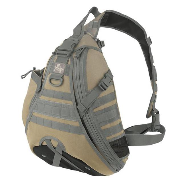 Maxpedition Monsoon Gearslinger Khaki / Foliage