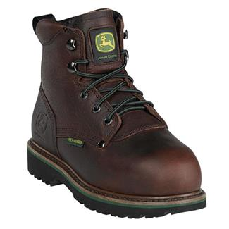 John Deere Lace-Up Met Guard ST Dark Brown