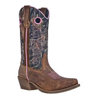 John Deere Wellington Pull-On Brown Crazy Horse