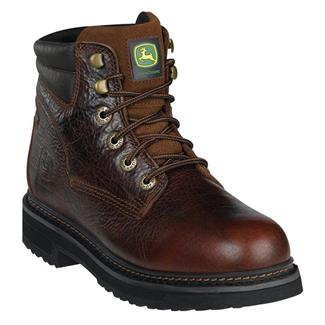 John Deere Ag and Utility Lace-Up Root Beer