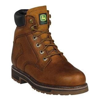 John Deere Ag and Utility Lace-Up Golden Tan