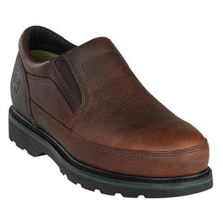 John Deere Ag and Utility Slip-On ST Brown Walnut
