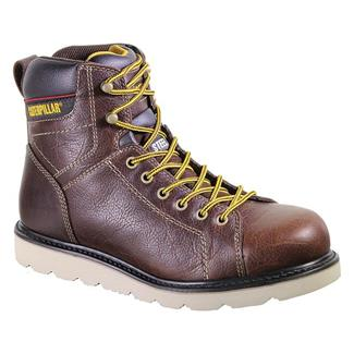 Cat Footwear Wister ST Red Brown