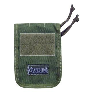 """Maxpedition 3"""" x 5"""" Notebook Cover OD Green"""
