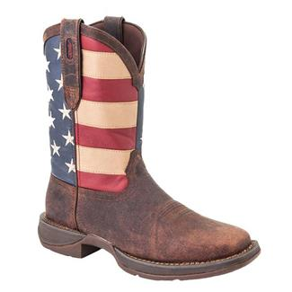 "Durango 12"" Flag Pull-On Brown / Union Flag"