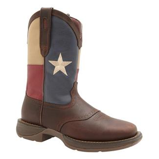 "Durango 11"" Flag Pull-On Brown / Texas Flag"