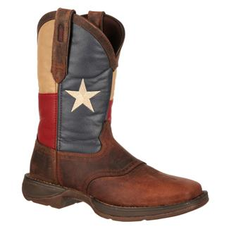 "Durango 11"" Rebel Flag Brown / Texas Flag"