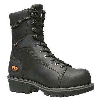 "Timberland PRO 9"" Rip Saw CSA Logger CT WP Black"