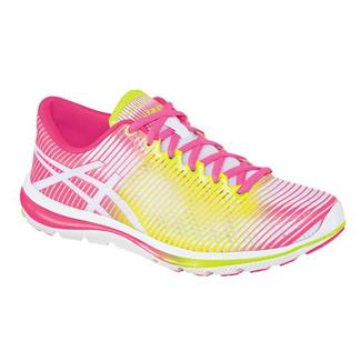ASICS GEL-Super J33 White / Flash Yellow / Hot Pink