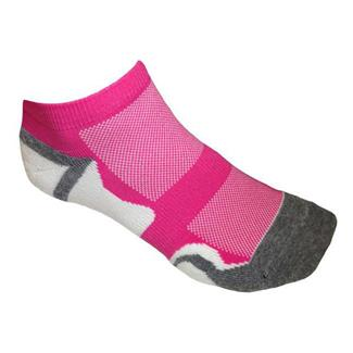 Catawba Sox Low Cut Mesh (2 pack) Hot Pink